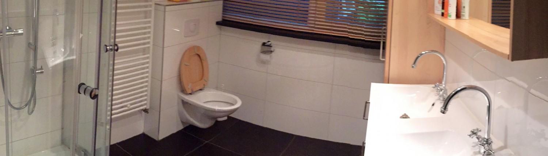 badkamer vakantiewoning Vierhouten