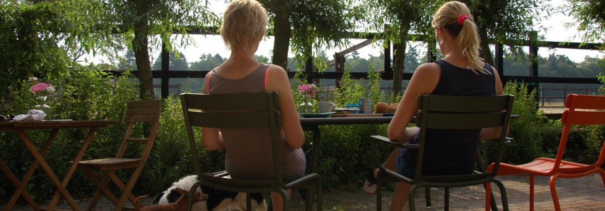 ontbijt bij vakantiewoning Vierhouten